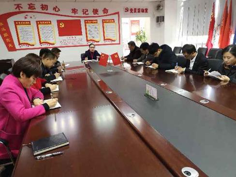 中共红河州betway必威体育官方下载行业协会支部委员会召开 2018年度党建工作述职评议会议